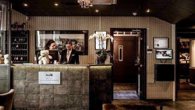 Reception Freys Hotel Lilla Radmannen